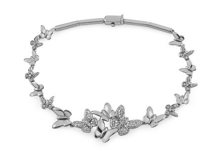 Armband mit Brillanten 0,555 ct Butterfly