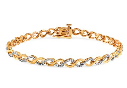 Gold Diamant Armband 0,250 ct Virginie