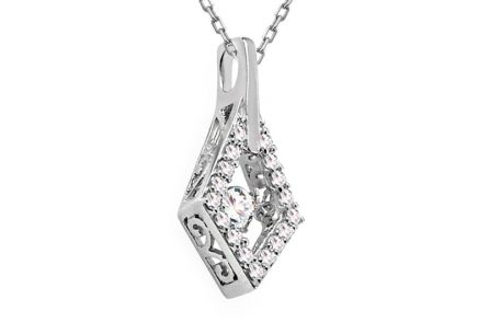 Diamant Anhänger 0,310 ct Dancing Diamonds