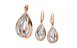 Diamant Set 0,620 ct Dazzling Drops