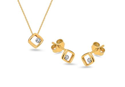 Diamant Set aus der Kollektion Geometric