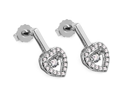 Diamant Ohrringe 0,210 ct Dancing Diamonds