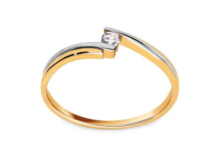 Verlobungsring Beauty mit Brillanten 0,030 ct