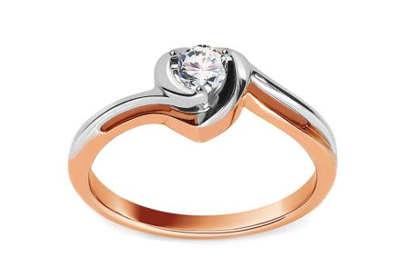 Diamantring Heart 0,150 ct Ethos 1
