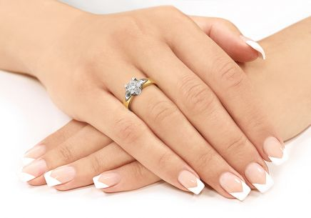 Diamantring EGL 1.000 CT, I, Si1, Kollektion Always