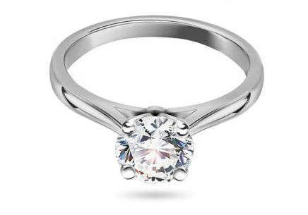 Verlobungsring mit Diamanten 1.040 CT Estelle white