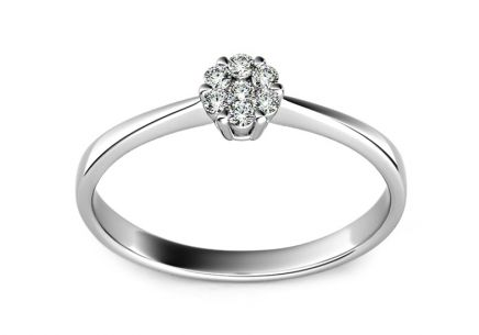 Verlobungsring mit Brillanten 0,110 ct Passion 2 white