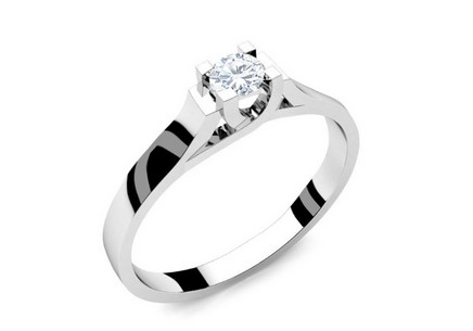 Verlobungsring mit Diamanten 0,180 ct Power Of Love 3