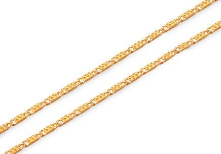 Elegante Goldkette 1,1 mm