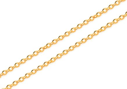 Goldkette Rolo 1,1 mm