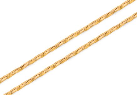 Exklusive Goldkette Seil 1,2 mm