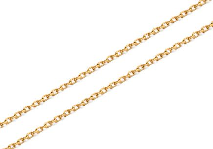 Goldkette Anker 0,7 mm