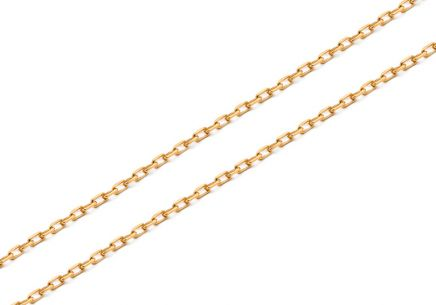 Goldkette Anker 1 mm