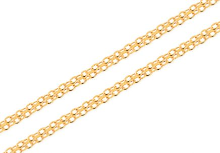 Goldkette Bismark 3 mm