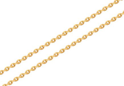 Goldkette Rolo 1,4 mm