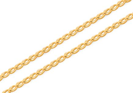 Untraditionelle Goldkette 2,2 mm