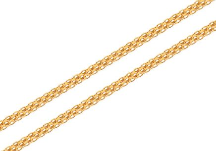 Goldkette Bismark 2,5 mm
