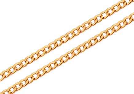 Goldkette Curb 3,7 mm