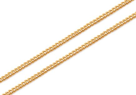 Goldkette Pancier 1 mm