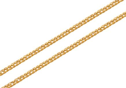 Goldkette Rombo 2,3 mm