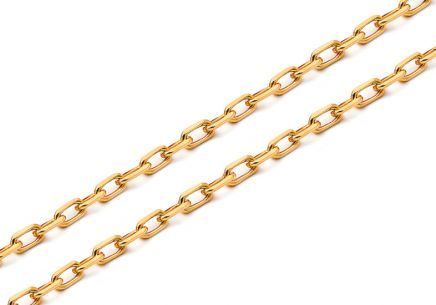 Goldkette voll Anker 3 mm