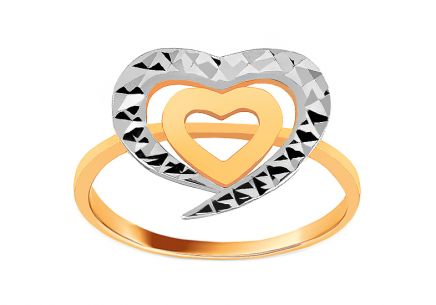 Damen Goldring Flair 2