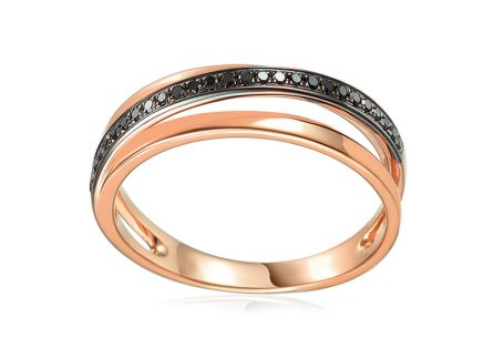 Brillant Ring aus der Kollektion Cocco 0,110 ct