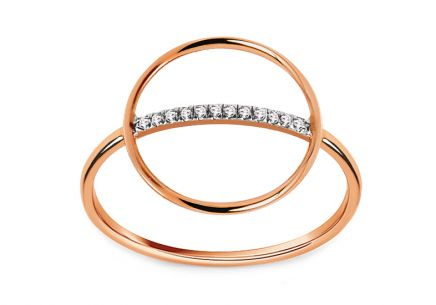 Brillant Ring aus der Kollektion Geometric