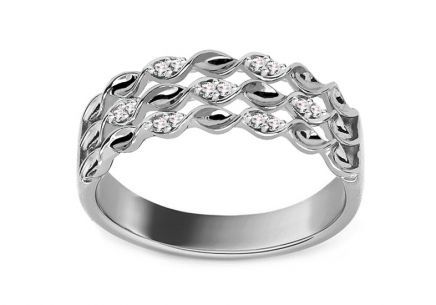 Brillant Ring aus der Kollektion Paris