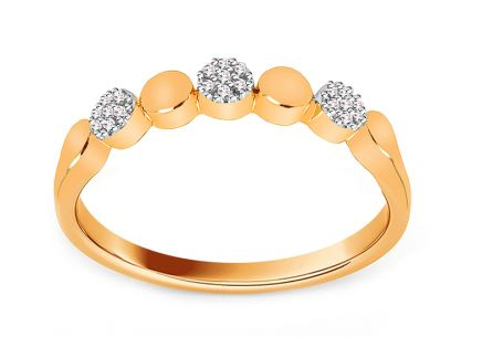 Brillant Goldring 0,040 ct
