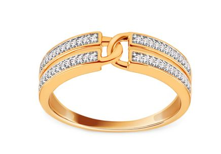 Brillant Goldring 0,100 ct