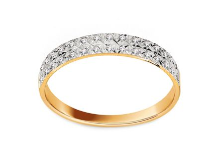 Brillant Ring in Trauringform aus der Kollektion Paris