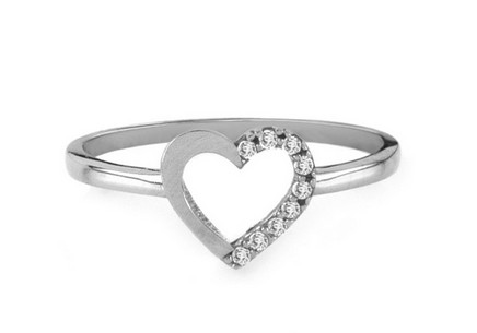 Goldring Fine heart white