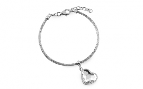 Silberarmband Heart - IS404
