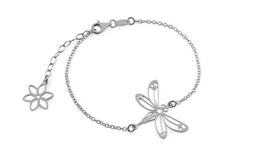 Silberarmband Libelle - IS2394