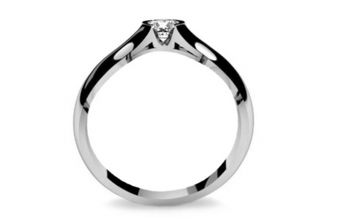 Verlobungsring mit Diamanten 0,150 ct Power Of Love 8