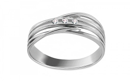 Diamantring 0,060 ct Deluxe Joy