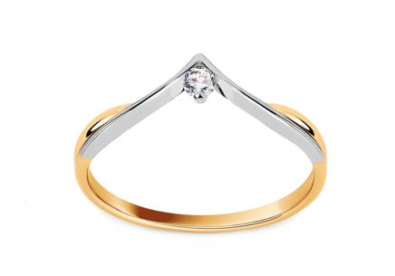 Verlobungsring In Love mit Brillanten 0,040 ct