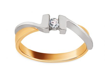 Verlobungsring Our Love mit Diamanten 0,080 ct