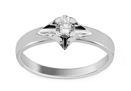 Verlobungsring mit Diamanten 0,150 ct Always