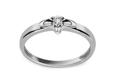Diamant-Verlobungsring aus der Always 0.010 ct-Kollektion